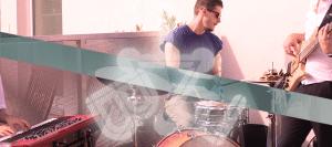 Beat Tape Experience: Georg Vogel (Keys), Joe Gridl (Bass), Michael Prowaznik (Drums)
