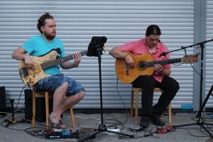 Joe Gridl und Miguel Delaquin