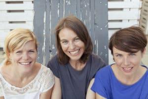 Die Initiatorinnen: Daniela Wittinger, Iris Kunadt, Marlies Stohl (v.l.n.r.)/Foto: Michaela Obermair