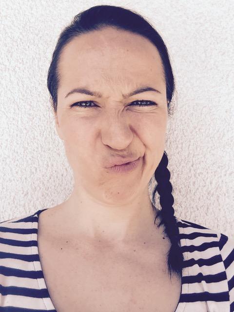 Shanna Danke funny face