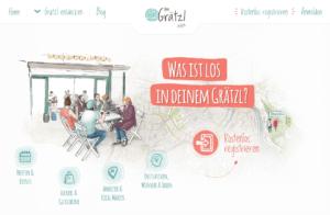 Screenshot Startseite www.imGrätzl.at