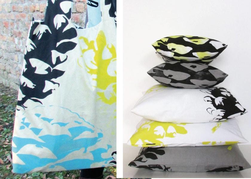 prater&stern macht handbedruckte Textilien