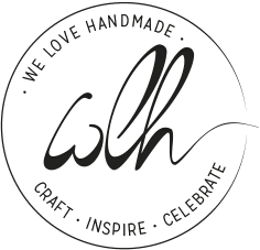 we love handmade logo