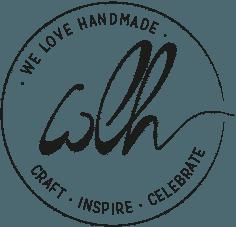 we love handmade logo